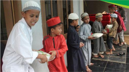 santuanan pangan untuk santri penghafal al quran