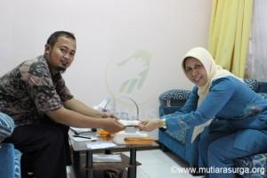 Donasi Tunai Dari SMKN 3 BOGOR