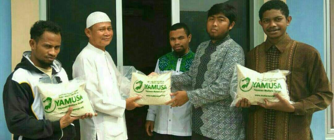 Sahabat Muallaf & Dhu'afa/Miskin Berkunjung ke Kantor Yayasan Mutiara Surga (YAMUSA)