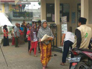 Tebar Pangan di Rw 03 desa Sukamantri kec. Tamansari Kab. Bogor