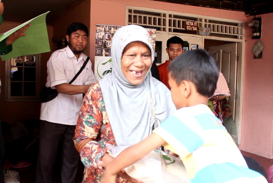 Tabar Pangan di Rw 04 desa Sukamantri, kec. Tamansari-Bogor