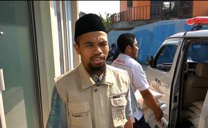 Ust Jum'at Ridwan, S.Ud. (Persiapan Tebar Pangan Kp. Cibulao , Ds. Tugu Selatan , Kec. Cisarua , Kab. Bogor)