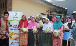 bantuan pangan untuk lansia kp cibedug ciawi