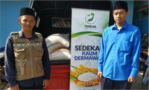paket bantuan pangan untuk santri penghafal qur'an