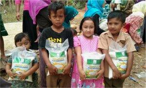 bantuan pangan untuk yatim
