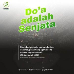 DOA ADALAH SENJATA