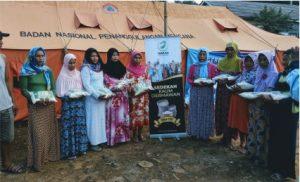 Bantuan Pangan untuk Korban Banjir Kp. Sukajaya