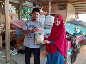 Distribusi Pangan untuk Dhuafa di Dramaga Bogor