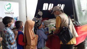 Tebar Pangan Yamusa untuk Para Penghafal Al-Quran Al-Barokah