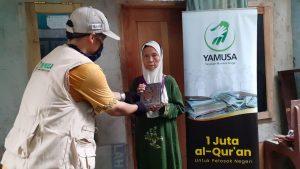 Yamusa tebar Sejuta Al-Qur'an untuk para Manula Dhuafa Ciomas Bogor