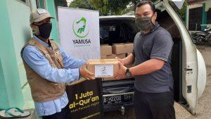 Wakaf Al-Qur'an untuk Ponpes Nurul Asiyah Sukabumi dan Bandung