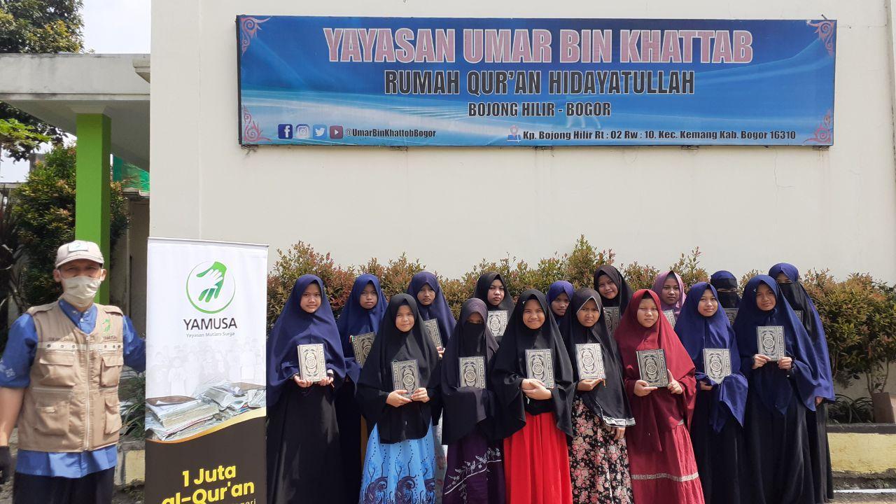 Tebar Sejuta Al-Qur'an Yamusa di Rumah Qur'an Hidayatullah