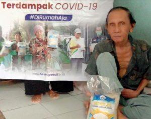 Bantuan Pangan untuk Warga Desa Kalisuren, Rt 01/16 Citayam Bogor