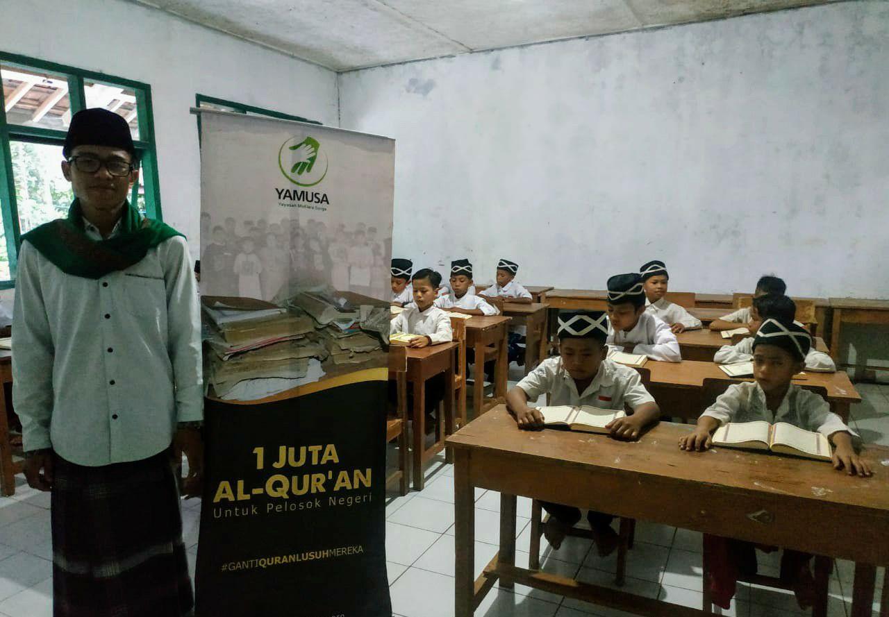 Yamusa Tebar Sejuta Al-Qur'an Dipelosok Negeri (Kab Garut Jawa Barat)