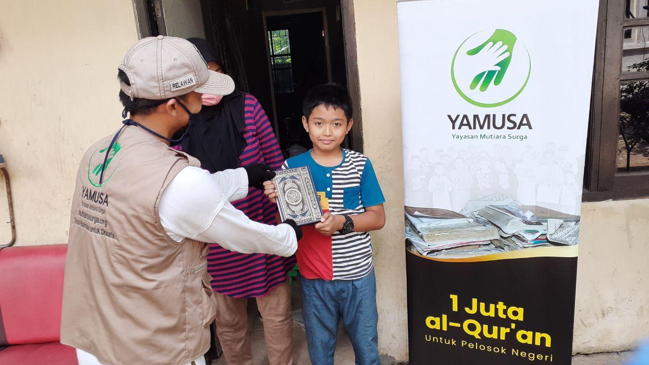 Yamusa Tebar Al-Quran di Tamansari Kab Bogor