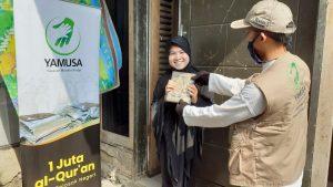 Yamusa Tebar Al-Quran untuk Para Dhuafa dan Santri