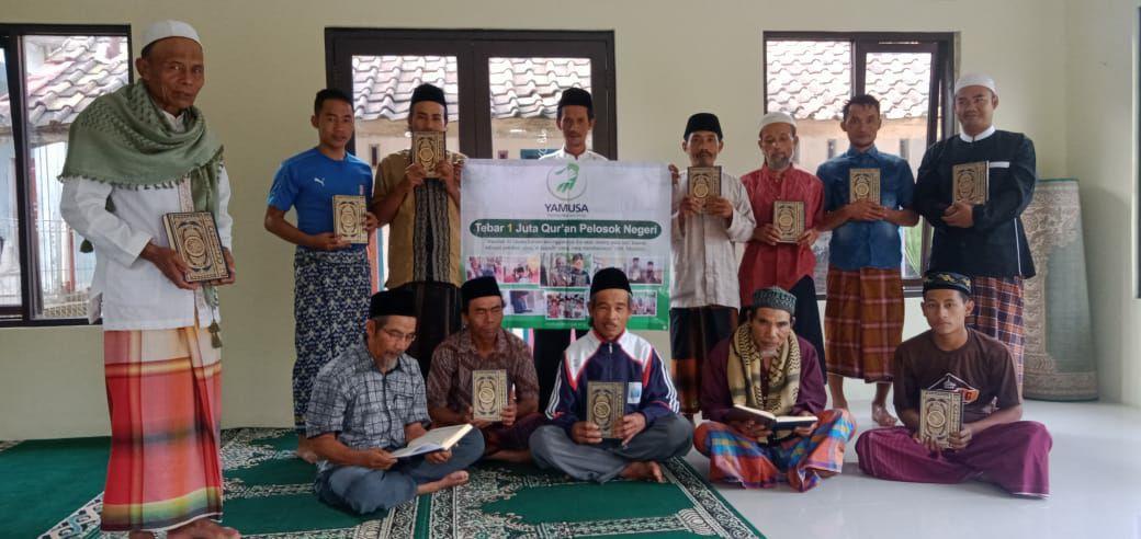 Yamusa Tebar Al-Quran untuk Masjid Al-Ikhlas Kp Gunung Cupu Garut