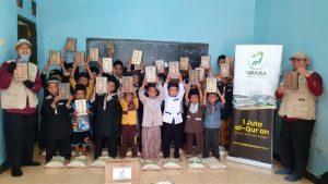 Yamusa Berbagi Mushaf Al-Quran untuk Pesantren An-Nur