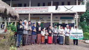 Distribusi Al-Quran untuk Santri Ponpes Al-Ihsan Kec Cibeber Kab Cianjur