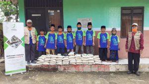 Yamusa Berbagi Pangan Kepada Santri Ponpes Muhajirin Kec Leuwiliang Kab Bogor