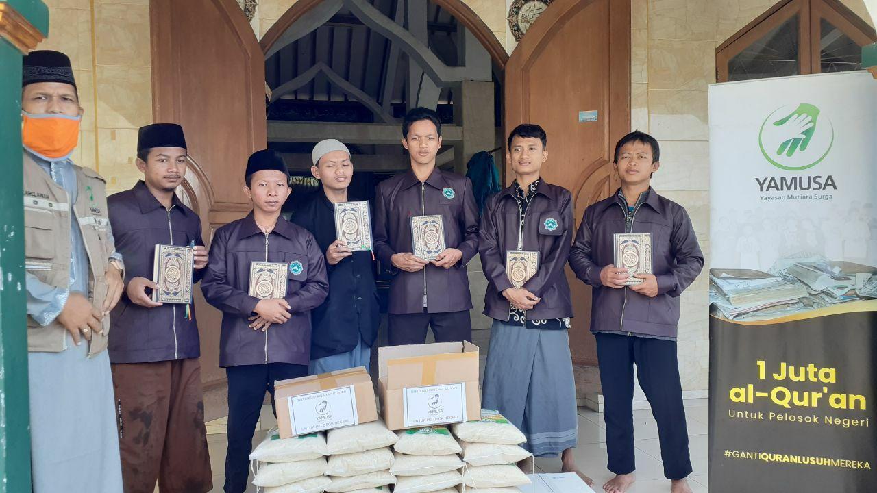 Mushaf Al-Qur'an untuk Ponpes Darul Qur'an Wal Hadits Bogor
