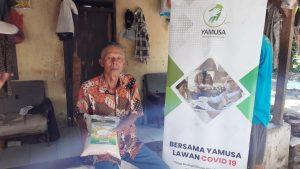 Distribusi Pangan untuk Para Dhuafa Kec Tamansari, Kab Bogor