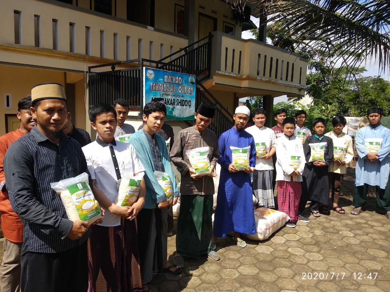 Yamusa Tanggap Lockdown kepada Para Santri Penghafal Al-Qur'an
