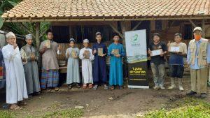 Bantuan Mushaf Al-Qur'an dan Pangan untuk Ponpes Bukhori dan Muslim Kab Bogor