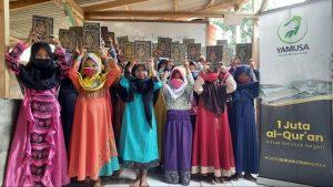 Wakaf Al-Qur'an untuk Santri Yatim dan Dhuafa Parung Bogor