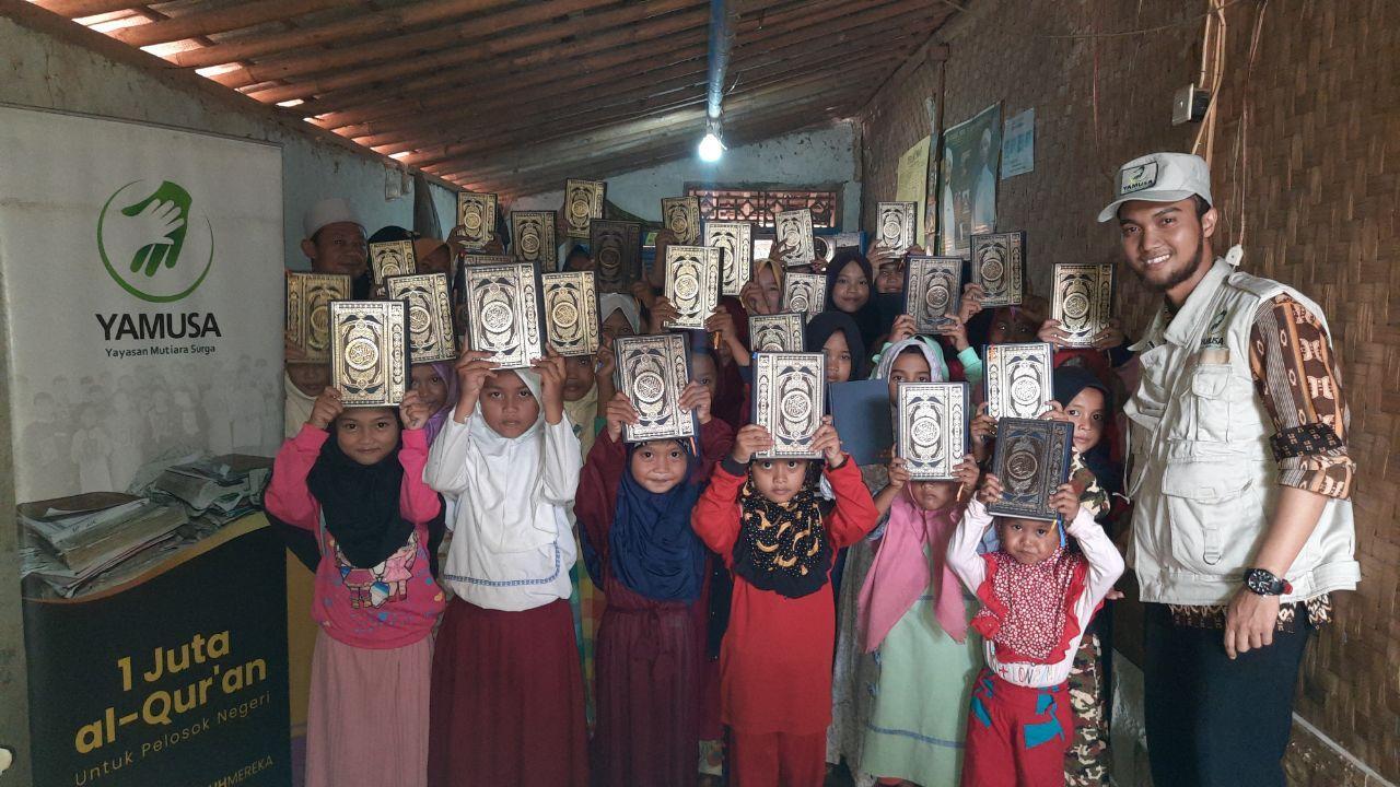Wakaf Al-Qur'an untuk Pelosok Negeri Kec Rumpin Bogor