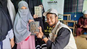 Wakaf Al-Quran untuk Pondok Tahfidz Tarbiyatul Muslimah Depok