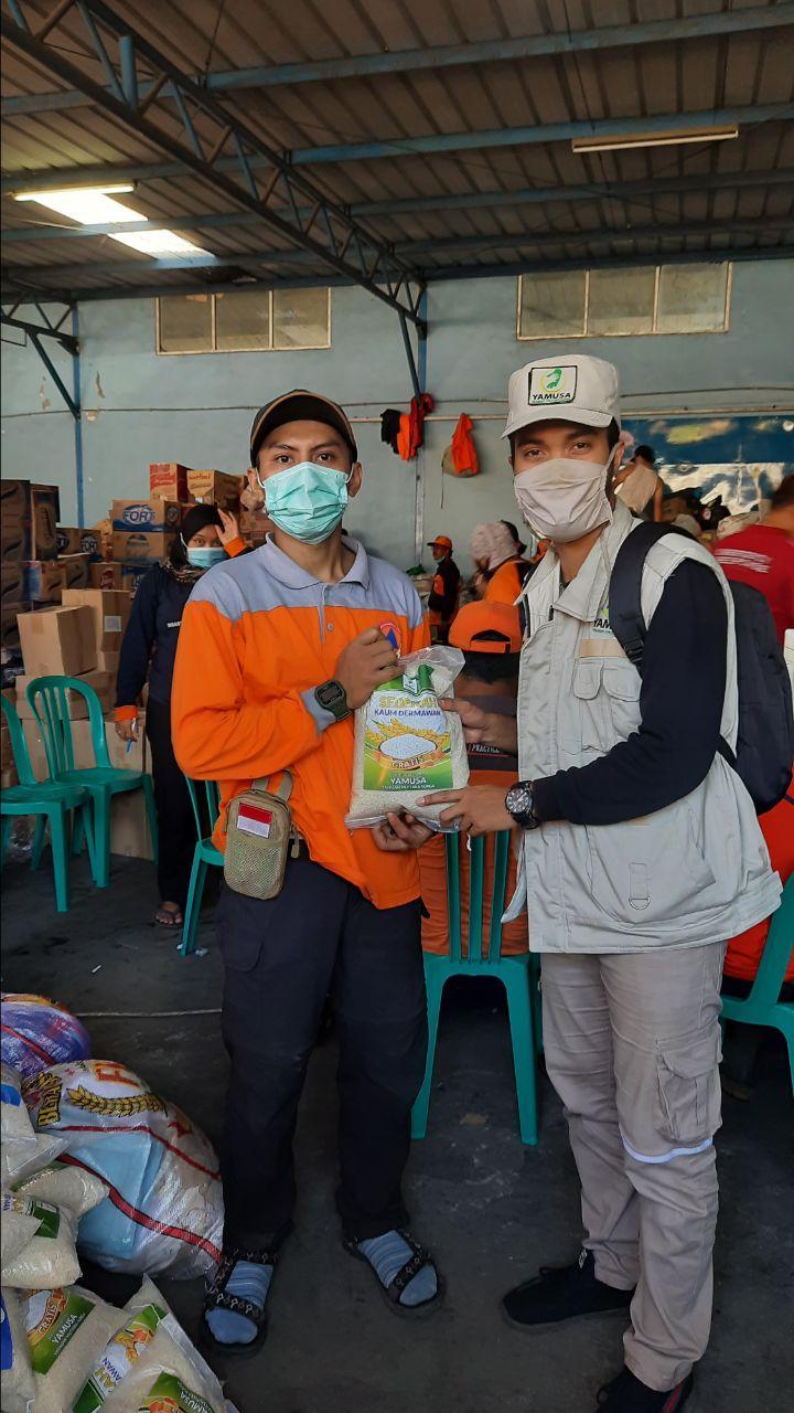 Bantuan untuk Korban Banjir Cicurug-Sukabumi