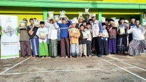 Yamusa Berbagi Pangan untuk Ponpes Miftahurrohman Tasikmalaya