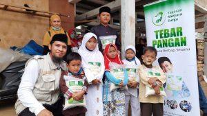 Bantuan Pangan untuk Anak-anak Yatim Kec. Tajurhalang Bogor