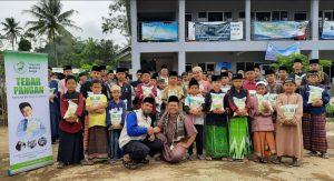 Bantuan Pangan untuk Ponpes Tahfidzul Quran Yatim Bandung Barat