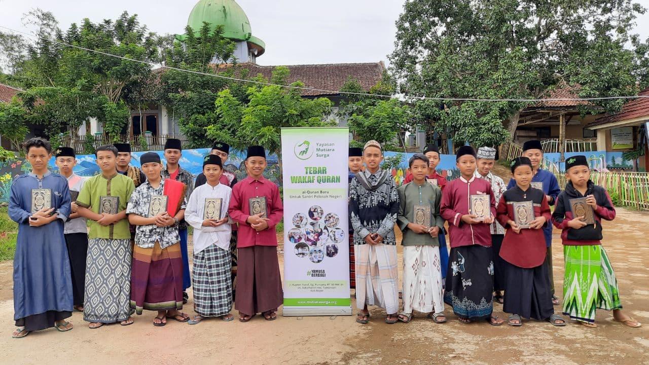 Wakaf Al-Quran untuk Ponpes Tahfizul Quran Kab Bandung Barat