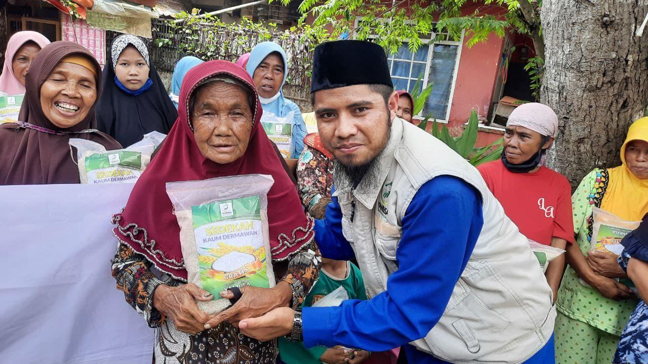 Berbagi Pangan untuk Dhuafa di Kab Subang Jawa Barat