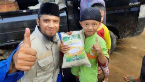 Paket Beras untuk Rumah Tahfidz Quran Al-Wafie Kerawang Jawa Barat