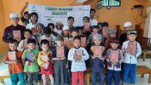 Wakaf Al-Qur'an untuk Rumah Tahfidz Quran Al-Wafie