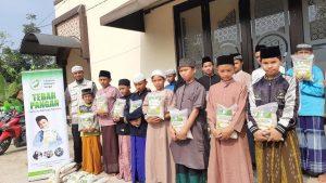 Distribusi Paket Pangan ke Ponpes Yatim Darut Taufiq Ar-Rahman