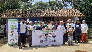 Paket Beras untuk Ponpes Yatim Darut Fadz Kuruni Sukabumi Jawa Barat