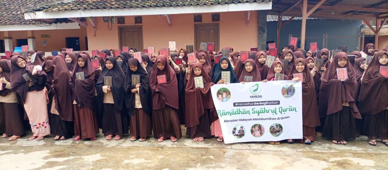 Laporan, Distribusi 1,000 Mushaf Al-Qur'an ke Sukabumi 3 April 2021