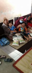 Distribusi Beras ke Anak-Anak Disabilitas Bogor