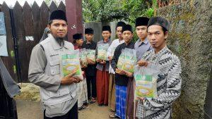 Paket Pangan untuk Ponpes Jaibon Kec Tamansari