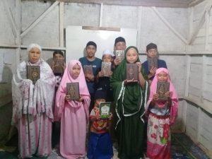 Wakaf Al-Qur'an untuk TPA Parigi Kab Sukabumi