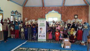 Bantuan Pangan untuk TPA Yatim Kab Bandung Barat