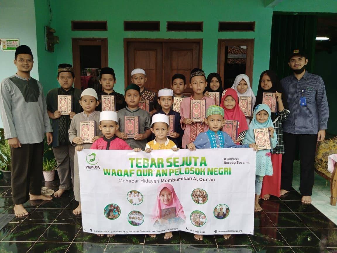 Wakaf Al-Quran untuk Ponpes Quran Keep The Faith Sunnah