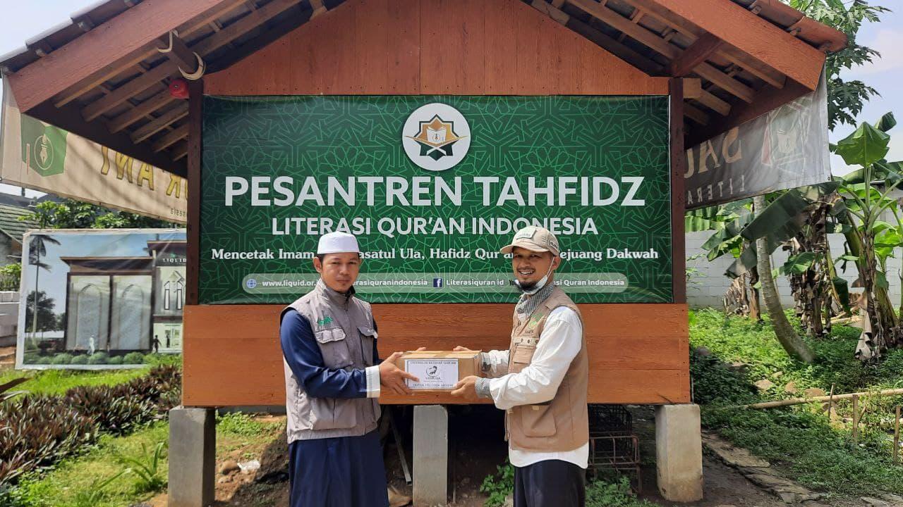 Wakaf Al-Quran untuk Santri Penghafal Al-Qur'an