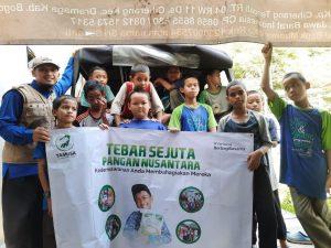 Paket Pangan untuk Santi Al-Barokah Kab Bogor